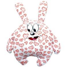 Подушка-игрушка Зайчик влюбленное сердце