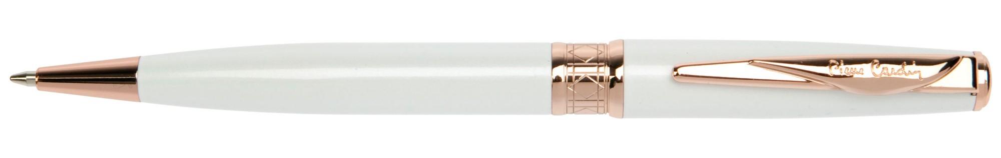 Белая шариковая ручка с золотом Pierre Cardin Secret
