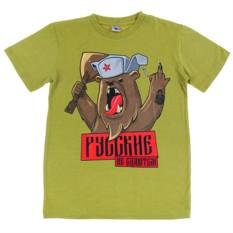 Мужская футболка «Русские не сдаются»