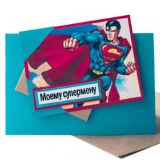 Открытка Superman