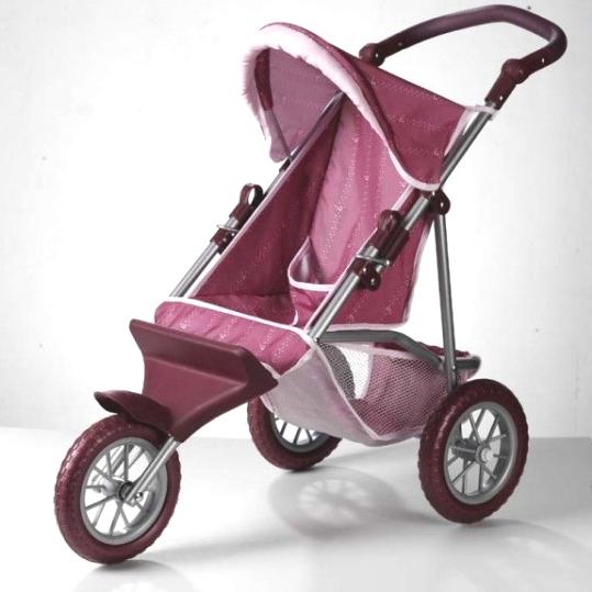 Трёхколесная коляска для куклы Jogger