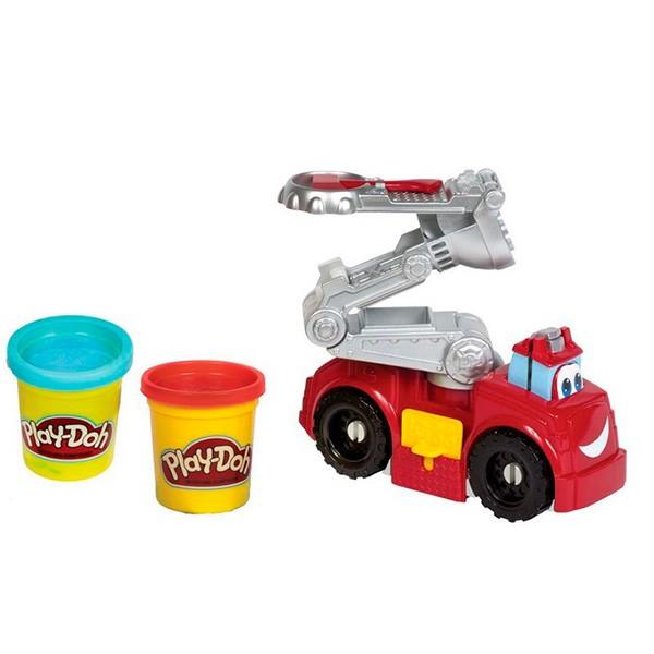 Набор для творчества Бумер: Пожарная машина Play-Doh