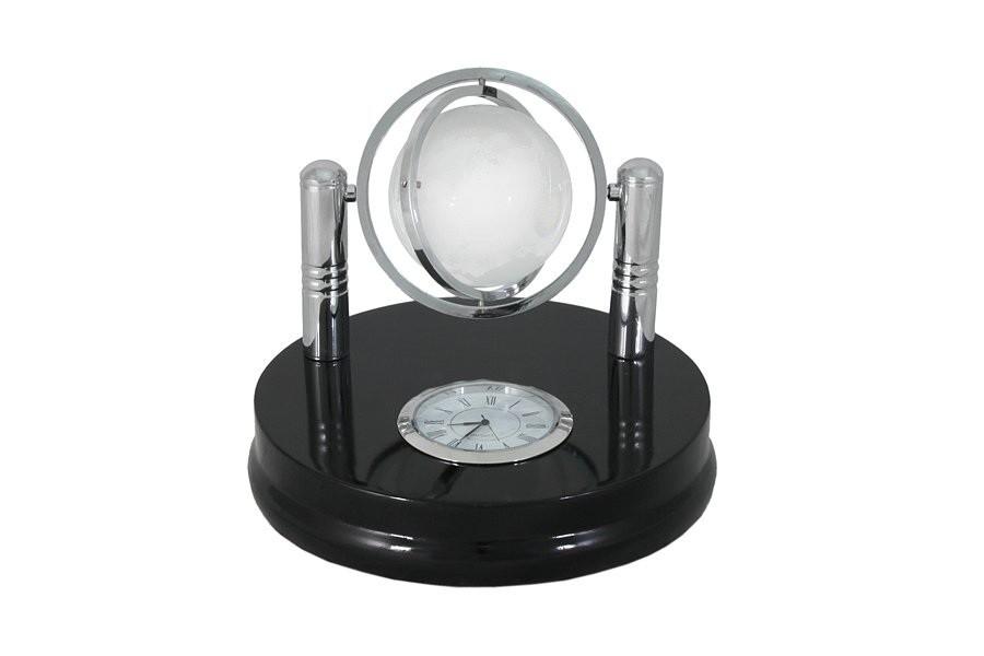 Настольные часы на подставке с глобусом Shuai