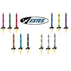 Многоразовая модель ракеты Estes Bulk pack crayon e2x