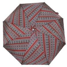 Серо-красный женский зонт Ferre Milano