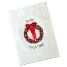 Набор для вышивания Рождественский венок
