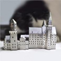 Металлический 3D пазл Замок Нойшванштайн