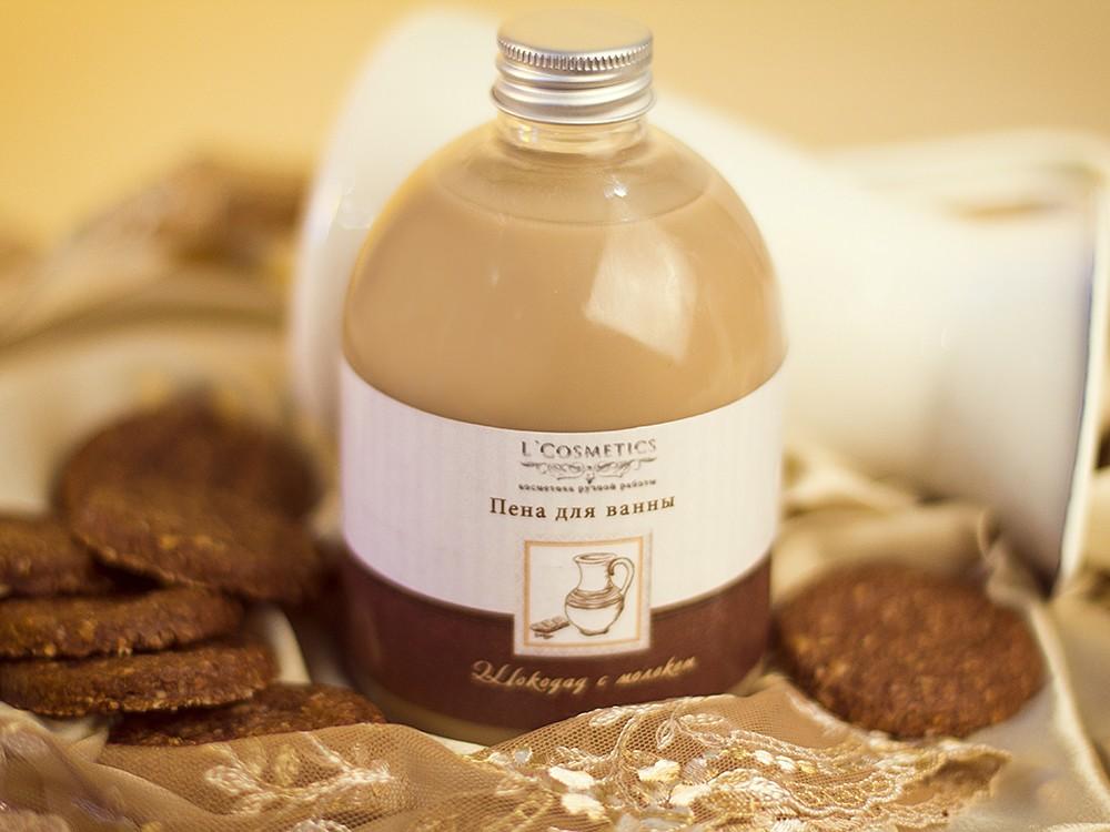Пена для ванны Шоколад с молоком