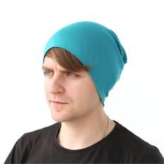 Бирюзовая шапка Brazgovka