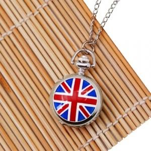 Подвеска-часы UK Flag