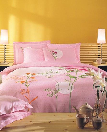 Постельное белье Lidia розовый
