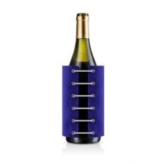 Синий охлаждающий чехол для вина StayCool
