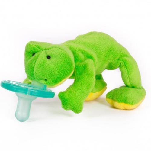 Соска и держатель Зелёная Лягушка WubbaNub ®