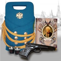 Подарочный набор для коньяка Пистолет Макарова