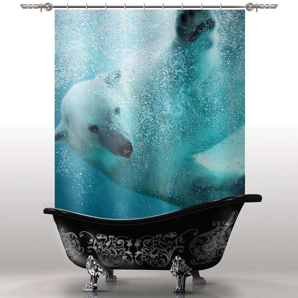 Шторка для ванны Взрослый Умка