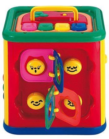 Развивающий кубик для малышей от Simba