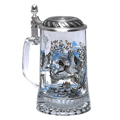 Кружка пивная с крышкой «Весёлый хряк»
