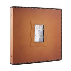 Фотоальбом, коричневый