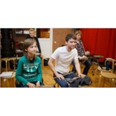 Базовый курс игры на барабанах в группе за 2 месяца