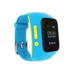 Синие детские часы-телефон c GPS-трекером MyRope R12