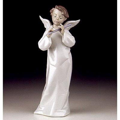 Статуэтка «Ангел с флейтой Музыка ангела»
