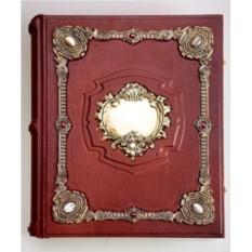 Родословная книга «Ювелирная Модерн» с накладкой «Барокко»