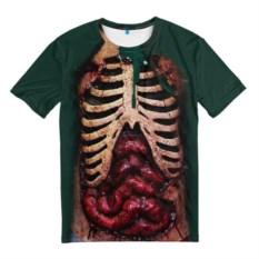 Мужская футболка Грудная клетка