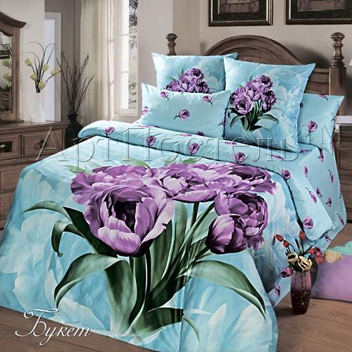 Комплект постельного белья Букет (2 спальный)
