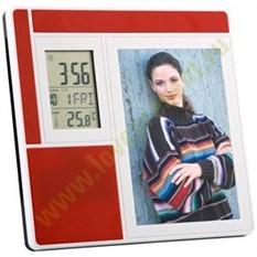 Рамка для фотографии с часами, датой, термометром