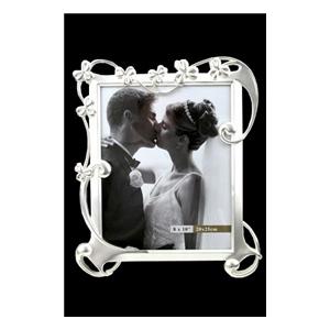 Рамка для фото «Свадьба» 20*25 см, металл.