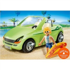 Конструктор Playmobil Каникулы Родстер с серфингистом