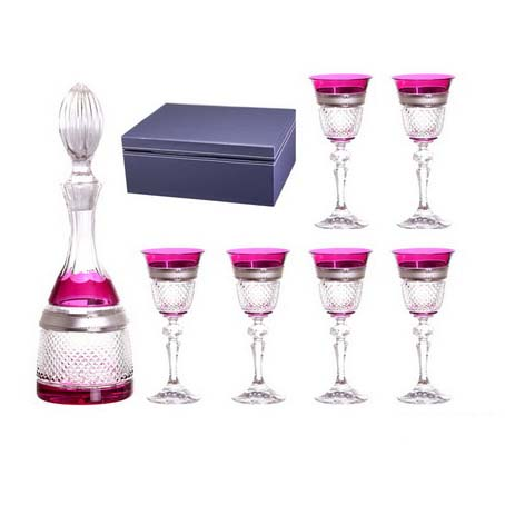 Набор для водки «Аржанти виолетта»