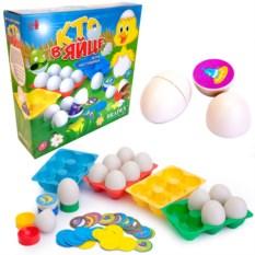 Настольная игра «Кто в яйце»