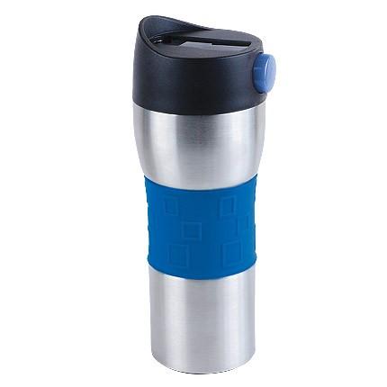 Сине-серебристый термостакан Витале 370 мл