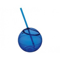 Емкость для питья Fiesta с соломкой (цвет — синий)