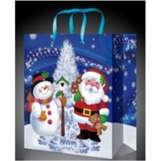 Пакет для подарков на Новый год