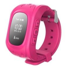 Розовые детские часы Smart Baby Watch Q50