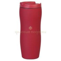 Красный термостакан с присоской Константа