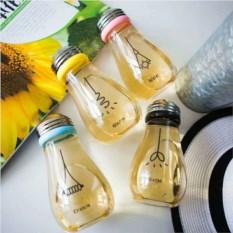 Стеклянная бутылка для напитков Лампочка