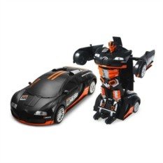 Черный робот-трансформер на радиоуправлении Savage HERO
