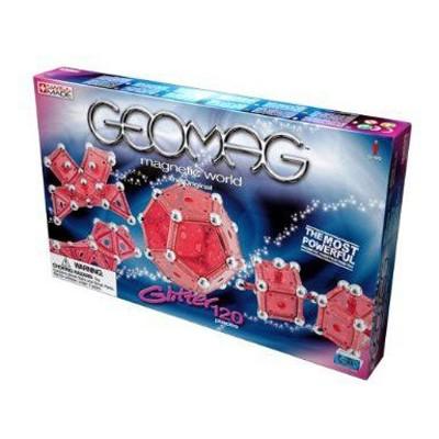 Магнитный конструктор GEOMAG Glitter 120