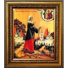 Икона на холсте Ксения Петербургская. Святая блаженная