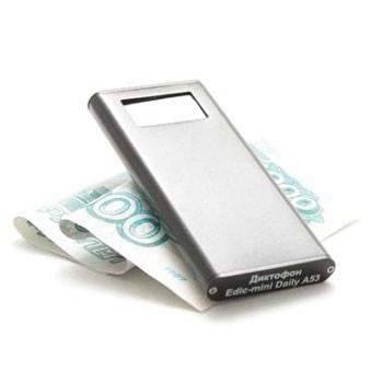 Цифровой диктофон Edic-mini Daily A53-300h, с OLED-дисплеем