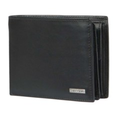 Черное портмоне Samsonite в подарочной упаковке