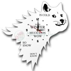 Настенные часы Зима близко