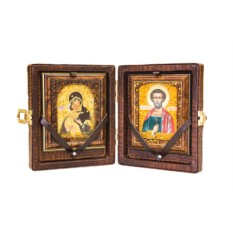 Подарочный набор «Складень на 2 иконы»