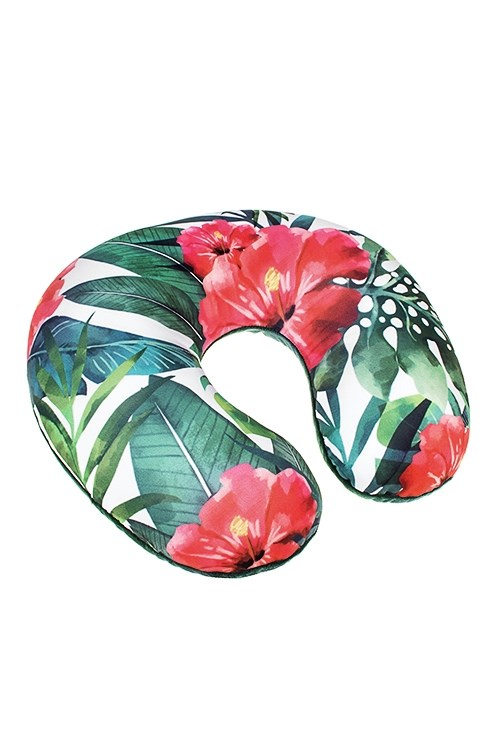 Подушка-подголовник Тропики