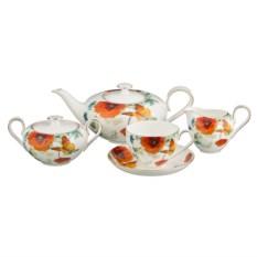 Чайный сервиз на 6 персон Оранжевое настроение