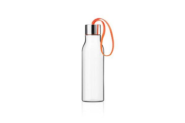 Оранжевая спортивная бутылка 500 мл