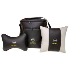 Набор из термосумки, подушки-подголовника и подушки Opel